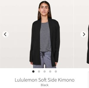 Lululemon Soft Side Kimono (cardigan, sweater)